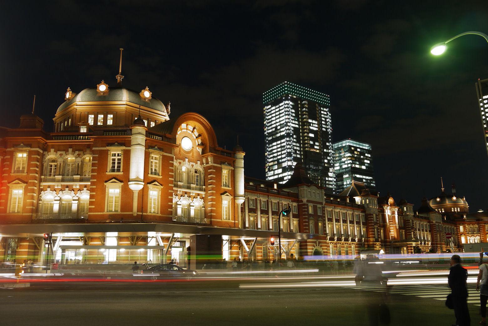 インスタ映えする東京都内東京駅